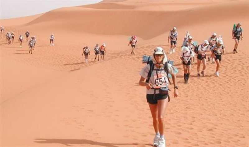 Our Luxaviation colleague is running the world's toughest footrace supporting stem cell treatment